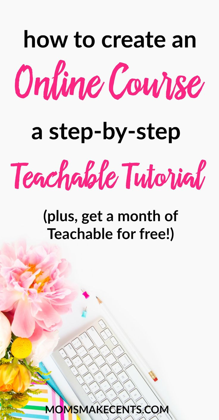 Thinking of launching an online course? Then you NEED to check this out first. These free videos shows you the backend of Teachable (the best platform for hosting an online course). Plus, want a month of Teachable's premium plan for FREE so you can test it out? I've got your covered! All students in the course can get their first month of Teachable for free. Booyah!