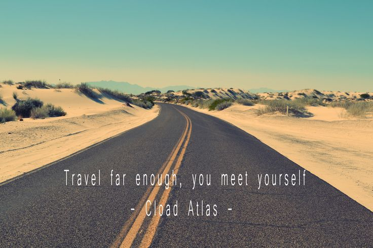 Travel far, you meet yourself.    #travel #quotes #traveling #travelquotes