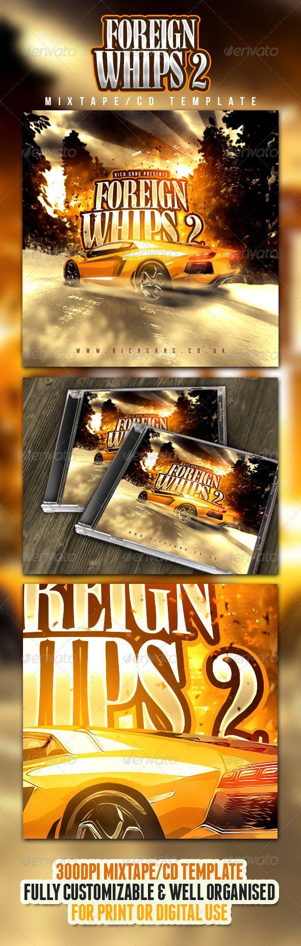 Rich Gang Hip Hop / Rap Mixtape CD Cover — Photoshop PSD #artist #mixtape • Available here → https://graphicriver.net/item/rich-gang-hip-hop-rap-mixtape-cd-cover/4860098?ref=pxcr
