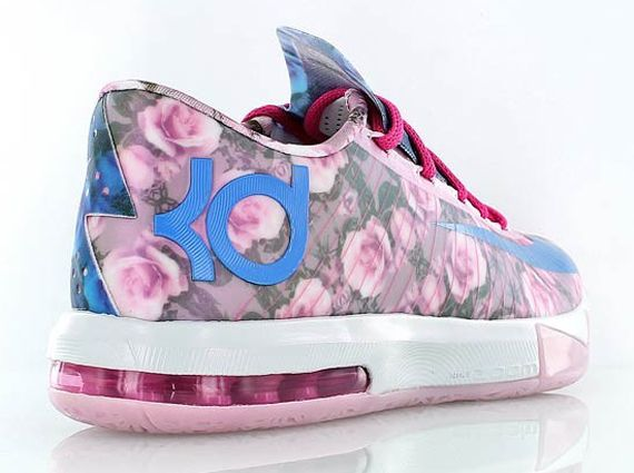 kd 6 floral nike supreme The Aunt Pearl Nike KD 6 Goes Full Floral 2014... So lovely and they support Breast Cancer
