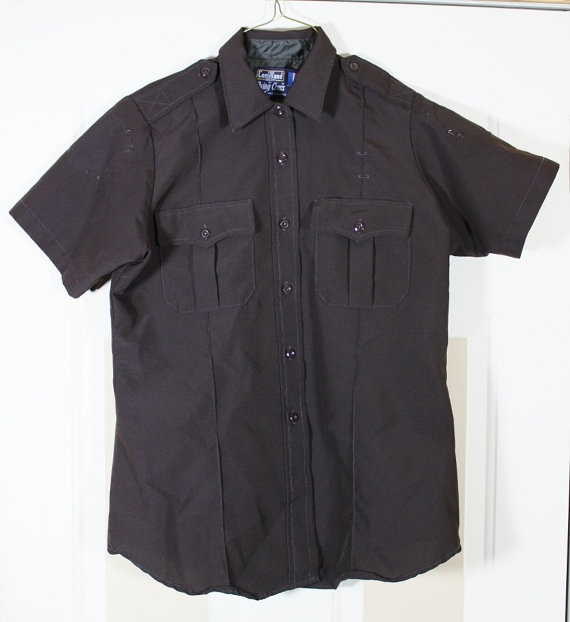Vintage Law Enforcement Uniform Shirt The by ilovevintagestuff