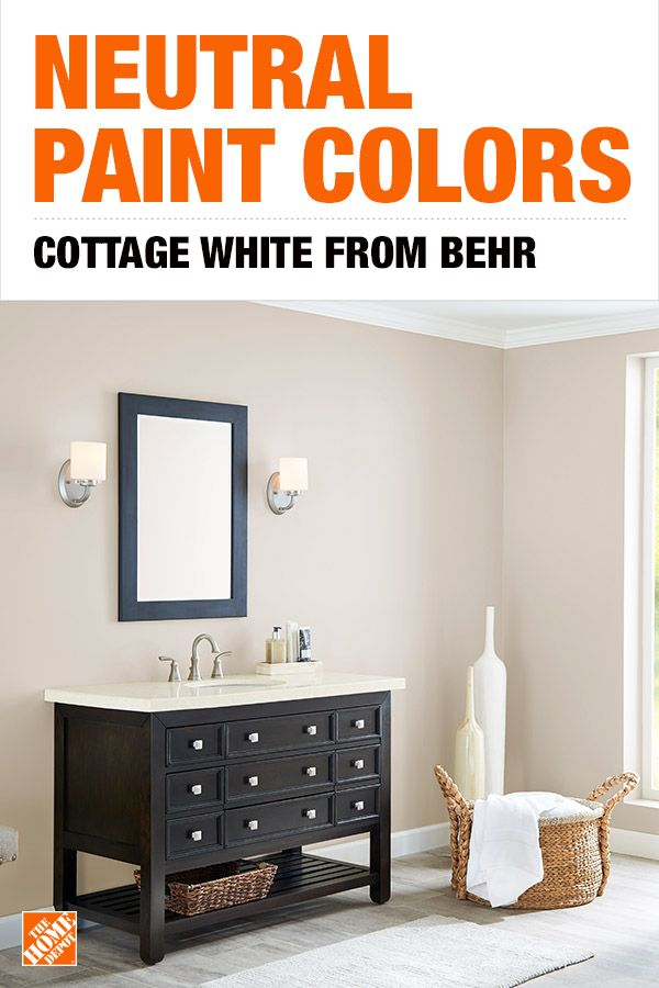 Behr Ultra 1 Gal 13 Cottage White Eggshell Enamel Interior Paint And Primer In One 275001 The Home Depot Home Depot Paint Colors Off White Paint Colors White Paint Colors