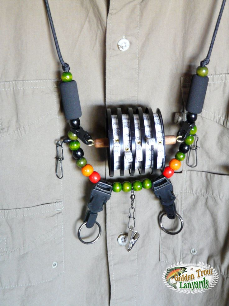 """Fly Fishing Lanyard called """"Trout"""""""