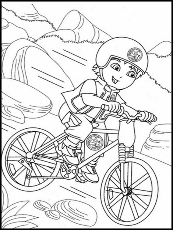 Pin By Coloring On Dora Coloring Pages For Kids Printable