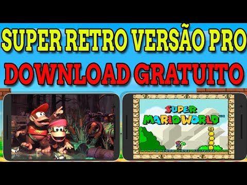 Como Baixar Super Retro 16 Pro Versao Paga 2 0 2 De Graca Versao