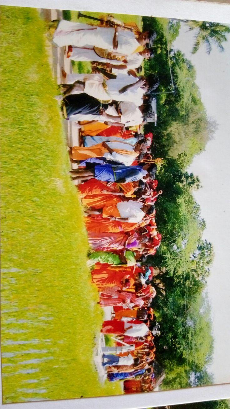 அனைத்து பக்தர்கள் பாதயாத்திரை செல்லும்போது அதன் காட்சி
