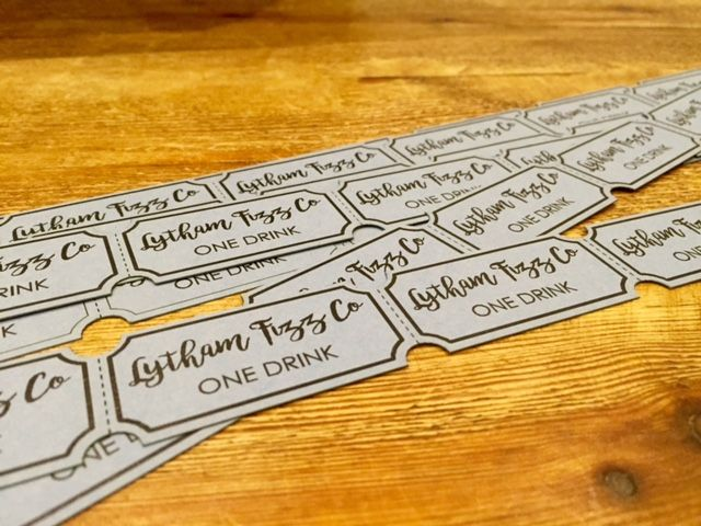 Mobile bar & Prosecco van  Lytham Fizz Co www.lythamfizz.co.uk