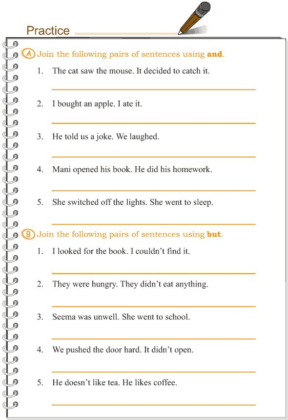 how to use connectors in a sentence