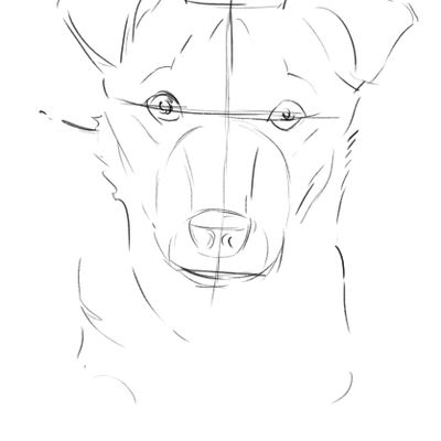 How To Draw A Easy Dog Ecosia