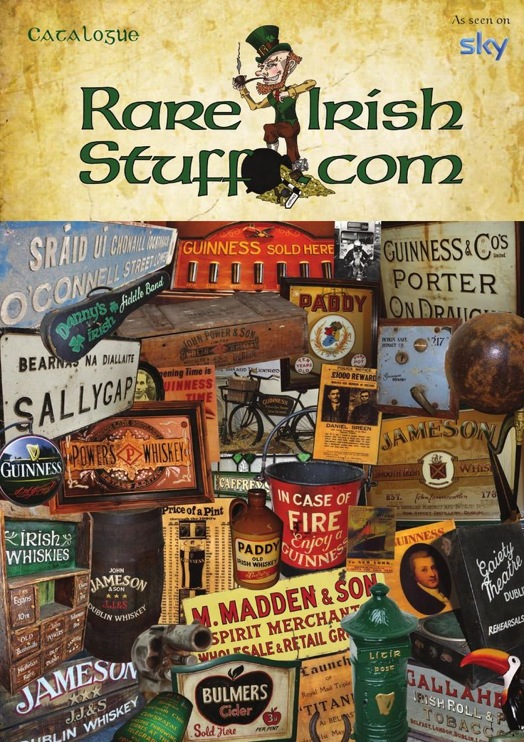 Irish Pub Decor Catalogue 2014
