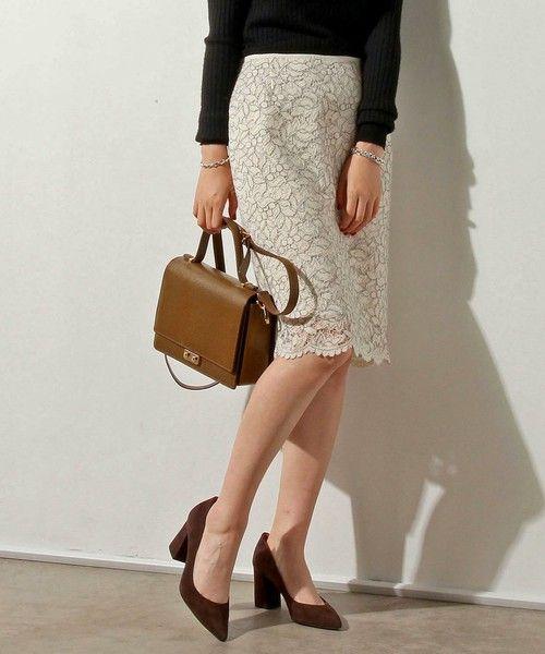 【ZOZOTOWN 送料無料・「ツケ払い」ならお支払は2ヶ月後】UNITED ARROWS(ユナイテッドアローズ)のスカート「○UBMF コードレース タイト スカート †」(15242154254)を購入できます。