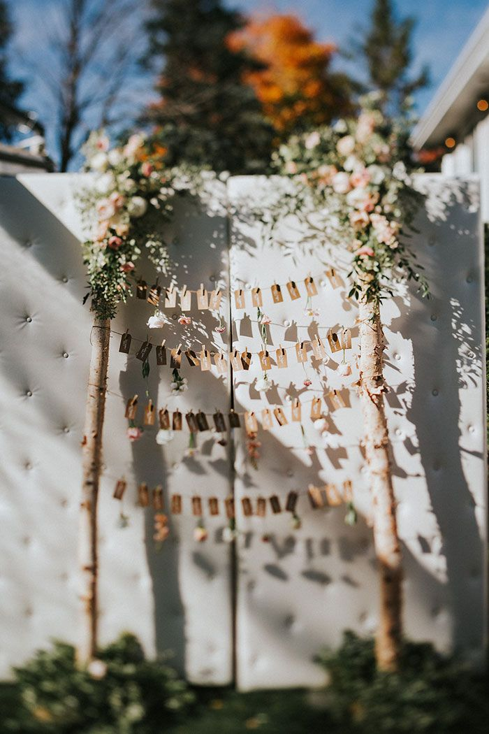 backyard autumn wedding; PLANNER Toast Events; PHOTOGRAPHY Joel + Justyna Bedford; FLORALS The Design Co; backyard tent wedding;