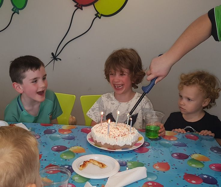 Cillians 6th birthday party at flip out