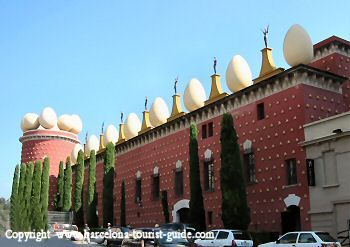 The Dalí Museum (is not in Barcelona but it's only a short train journey away 1 hour 29 minutes (by car) in a small town called Figueres)