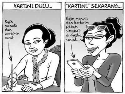 Hari Kartini - Sumber: Kartun Benny, Kontan - April 2016