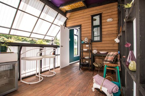 The matchbox gives guests the chance to check out tiny house living in a great location, from $85 per night. It is a quirky, self-contained space on a view-filled plot only 15 minutes walk from central New Plymouth. At 18sq m, it has a comfy queen bed, full bathroom, and porch with kitchenette.