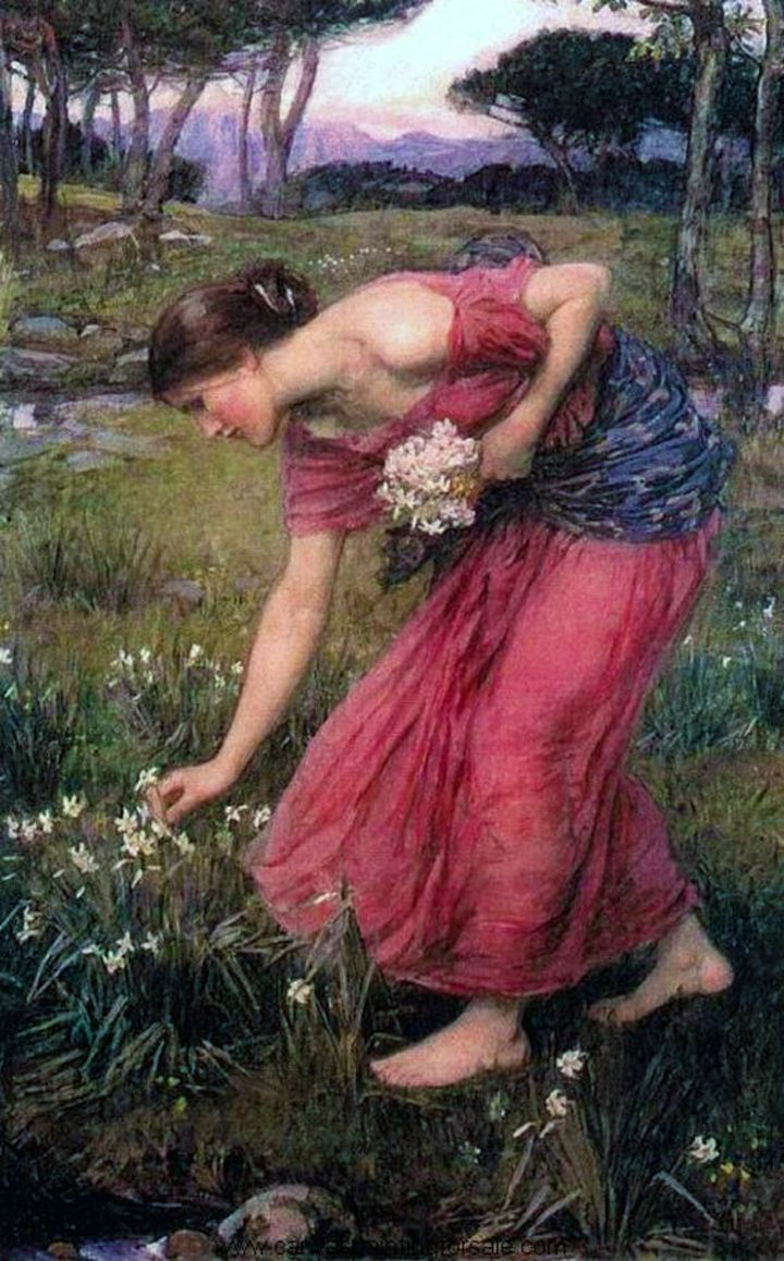 Narcissus, J. W. Waterhouse 1912