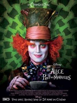 Alice au pays des merveilles - Date de sortie24 mars 2010 (1h49min) - Réalisé parTim Burton  Avec Johnny Depp, Mia Wasikowska , Michael Sheen - GenreFantastique, Aventure, Famille - Nationalité Américain - Presse 3,5/5 Spectateurs 3,3/5