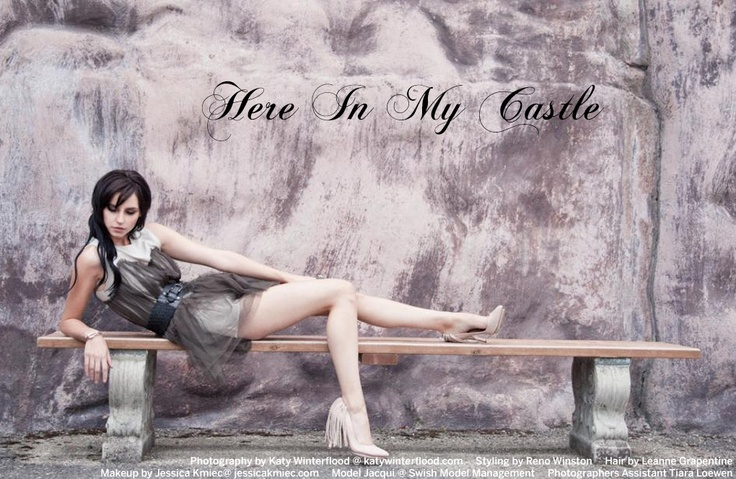 """""""Here In My Castle"""" Photographed by Katy Winterflood   Papercut Magazine"""