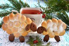 """Karácsonyi sütik """"bárány"""""""