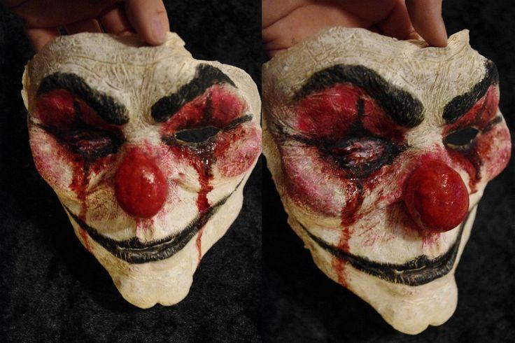 Evil Clown Mask by SometimesAliceFX on DeviantArt