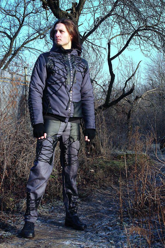 Assassin's Rock - Metal - Goth Winter Men's Jacket - L