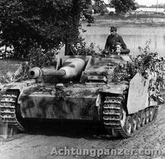 German Stug III Tank Destroyer