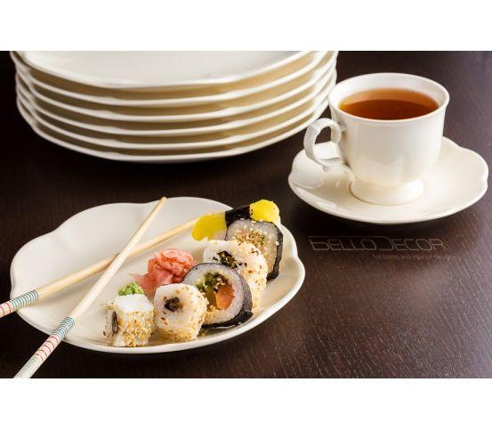 Ceramika Villa Italia Sakura sushi filiżanka herbata