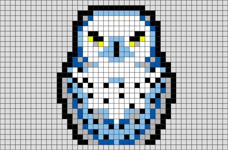 Pixel art de hedwige