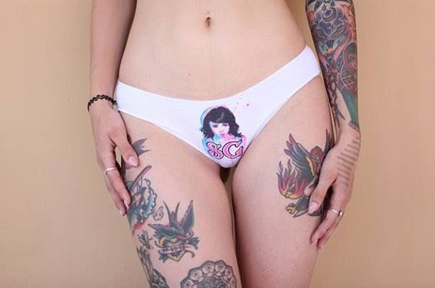 手机壳定制free run  white cheetah print Click the link in bio and grab your own pair of SuicideGirls undies  BlackheartBurlesque http  ift tt rx sAE Pictured  fridahsuicide Photo by  franidom