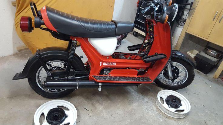 #Simson #SR50 #Roller mit Speichenrädern (Einzelanfertigung) #AKFfanpost