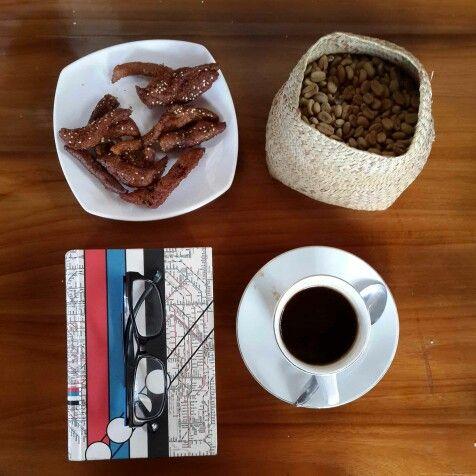 Books and coffee!