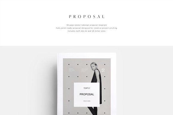 Proposal Minimalisme by T E M P L Y on @creativemarket