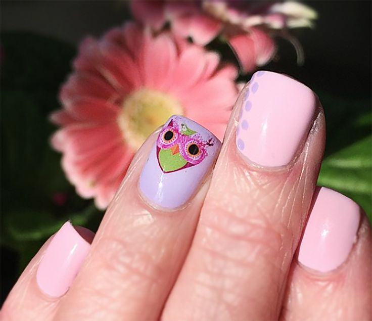24 best Owl Nail Art Decals images on Pinterest | Owl nail art, Owl ...