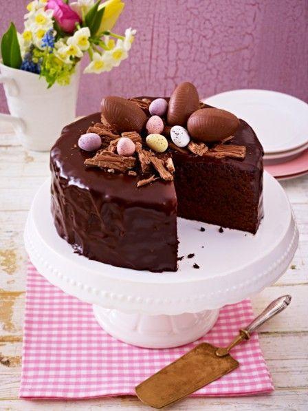 Osterkuchen-Schokoladenkuchen