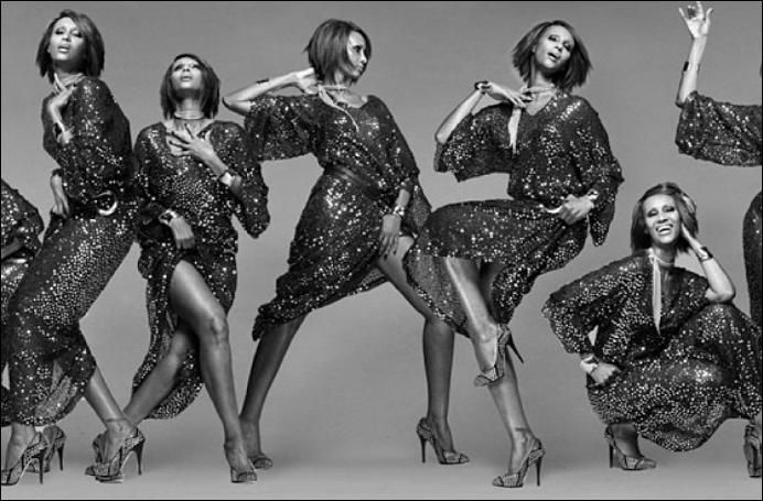 african model IMAN fashion covers images | Fashion Biography: From Somalia To New York - Iman Bowie's Journey As ...