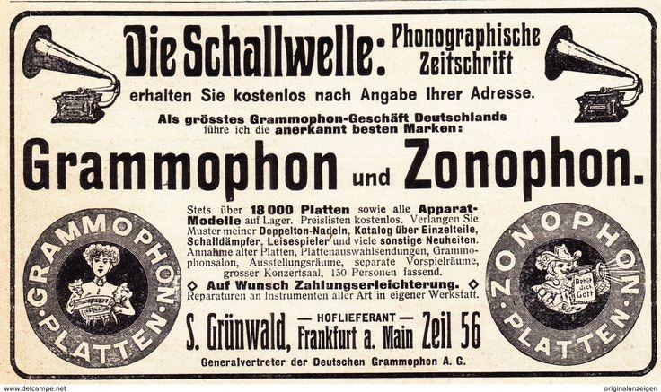 Bekjent Grünwald reklame