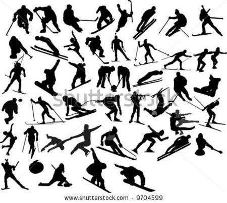 olympic clip art free winter | Collection Of Vector Winter Olympic Games - 9704599 : Shutterstock