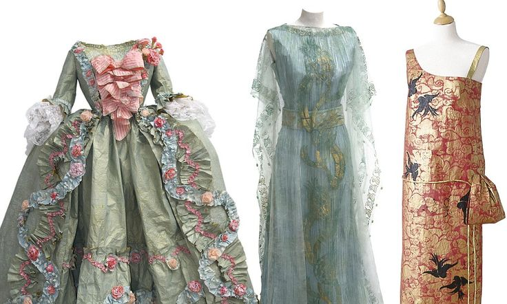 Pret-a-papier: The incredible period gowns recreated with paper, glue, paint - and not a stitch of fabric