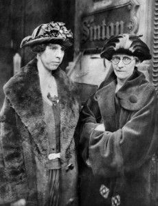 June Buchanan (left)  and Alice Lloyd, co-founders of Alice Lloyd College and The June Buchanan S chocolate.