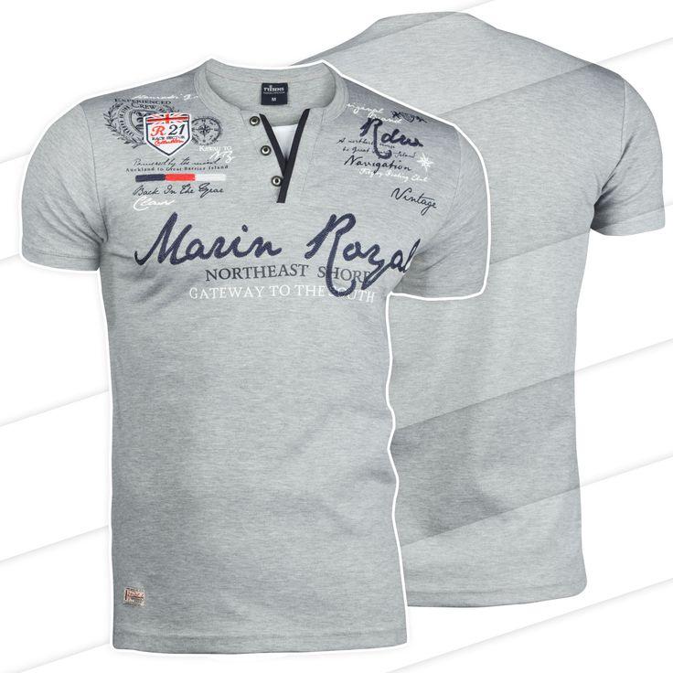 Marin Royal Designer Poloshirt