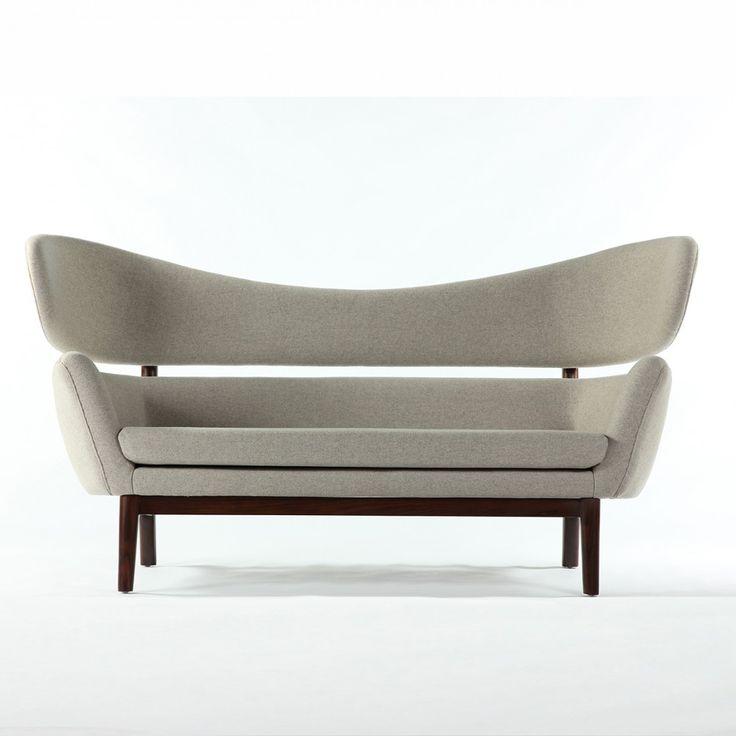 Mid-Century Modern Reproduction Baker Sofa - Wheat Inspired by Finn Juhl #Sofa #MCM