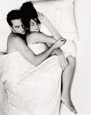 Opinion Couple sleeping spooning naked valuable piece