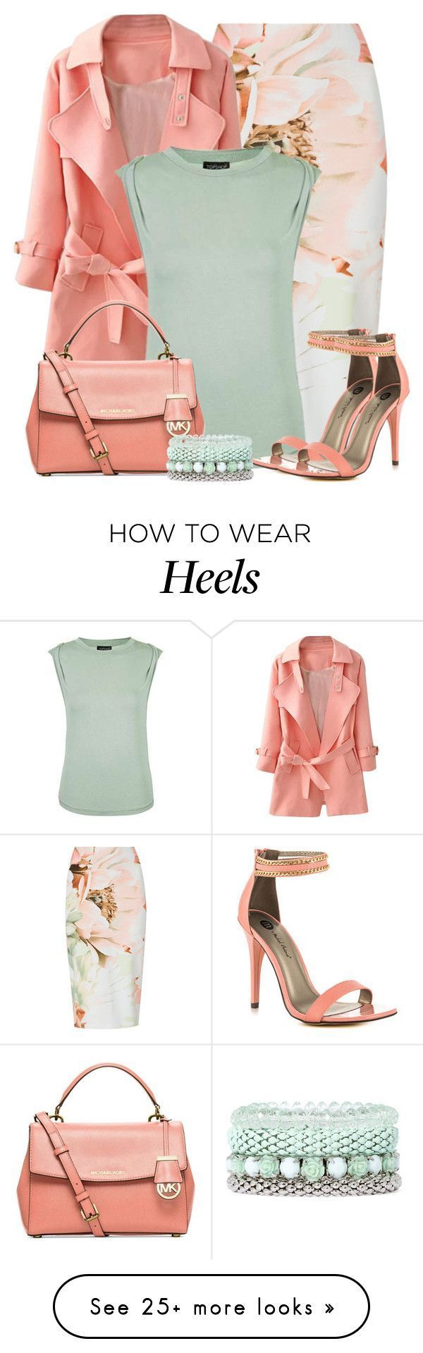 """Untitled #5852"" by cassandra-cafone-wright on Polyvore featuring Topshop, Michael Kors, Michael Antonio and Decree"