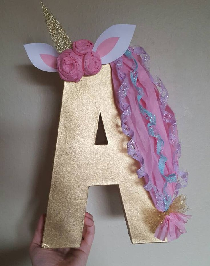 "Unicorn Letter, 12"" Letter, Unicorn ONE Birthday Decorations, Unicorn First Birthday, Unicorn Initial, Unicorn Letters, Unicorn Numbers by ShootingStarsParties on Etsy https://www.etsy.com/au/listing/495066668/unicorn-letter-12-letter-unicorn-one"