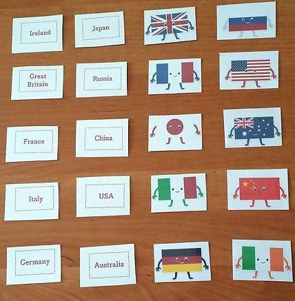 Nauczanie angielskiego dzieci - praca i pasja.: Flagi państw- Where are you…