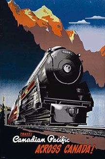 27 best images about vintage train posters and signs on for Vintage train posters