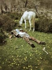 Taking a break, gaucho style