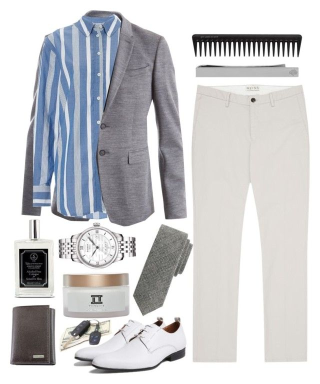 """""""Wedding: Men Edition"""" by prettyorchid22 ❤ liked on Polyvore featuring Burberry, Equipment, Reiss, Tissot, Calvin Klein, Taylor of Old Bond Street, TWINLUXE, GHD and Mulberry"""