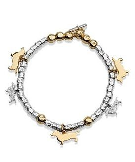 Dodo bracelets with dachshund charms! Avaliable at Orsini Jewellers.